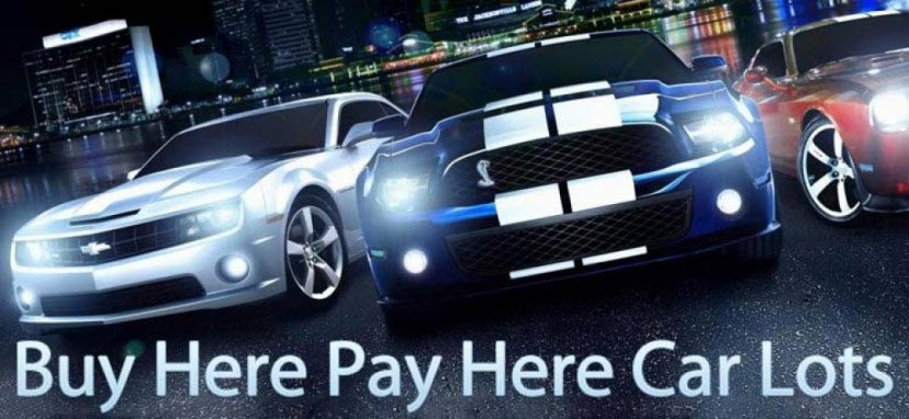 Buy here pay here car lots no credit check – A Great Option For Those With Bad Credit